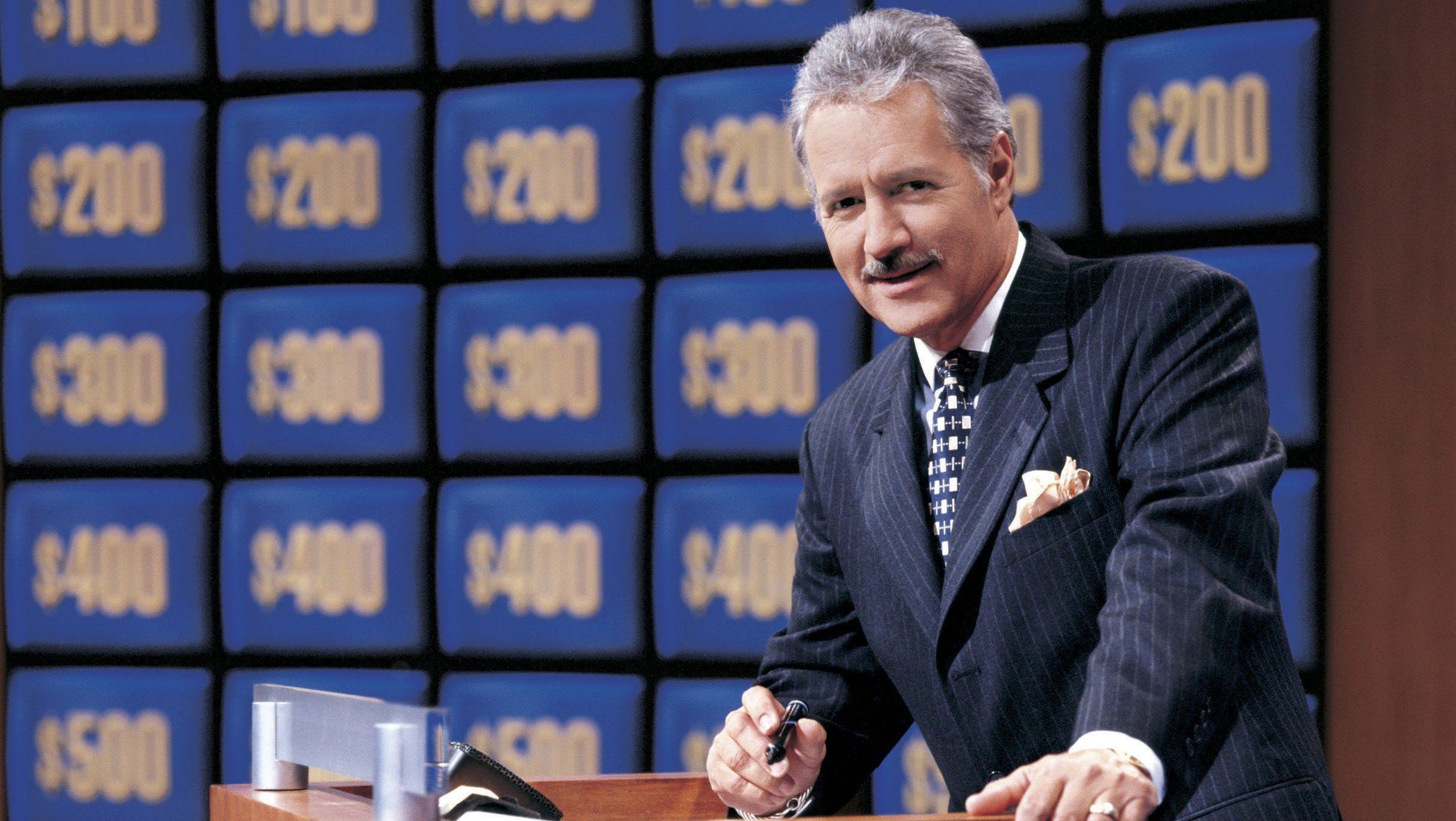 alex trebek jeopardy host