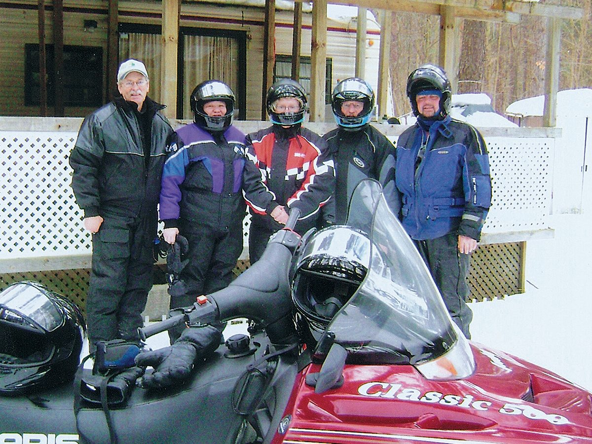 Snowmobile enthusiasts