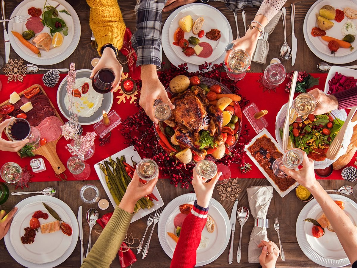 Tips for a better holiday - Christmas dinner