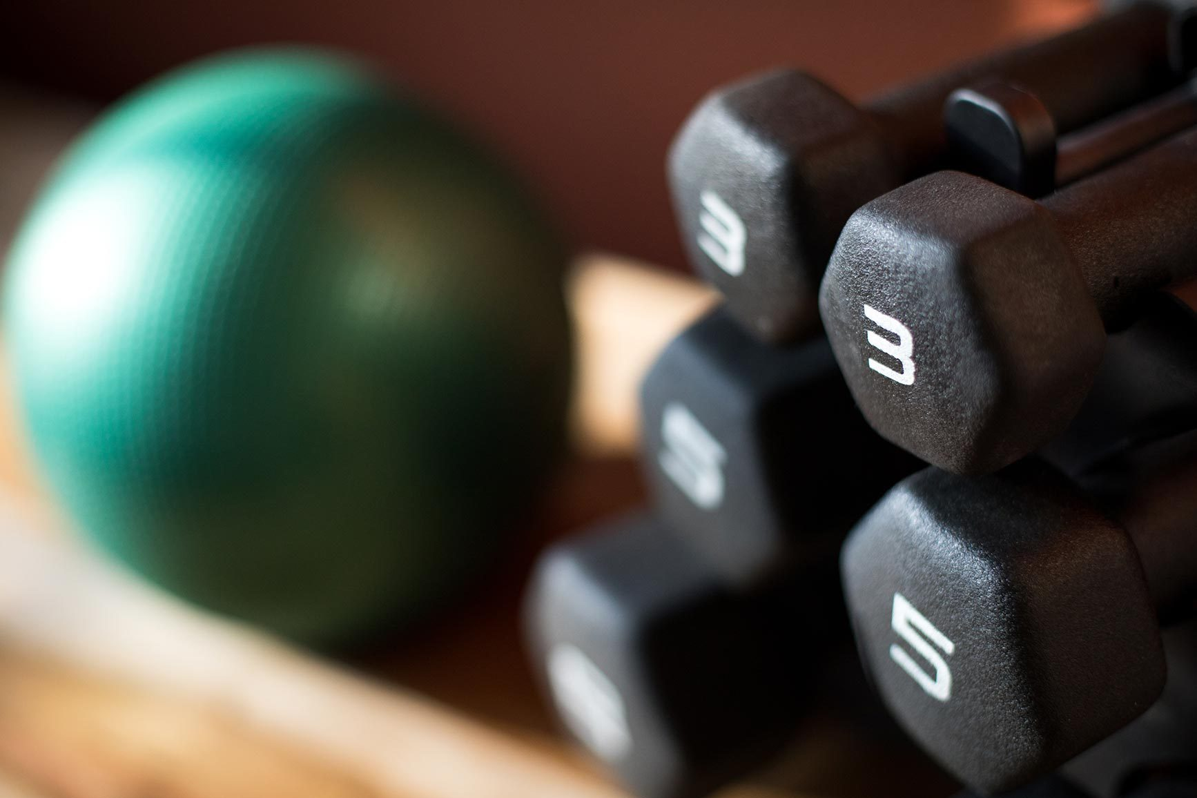 Dumbbells, weights