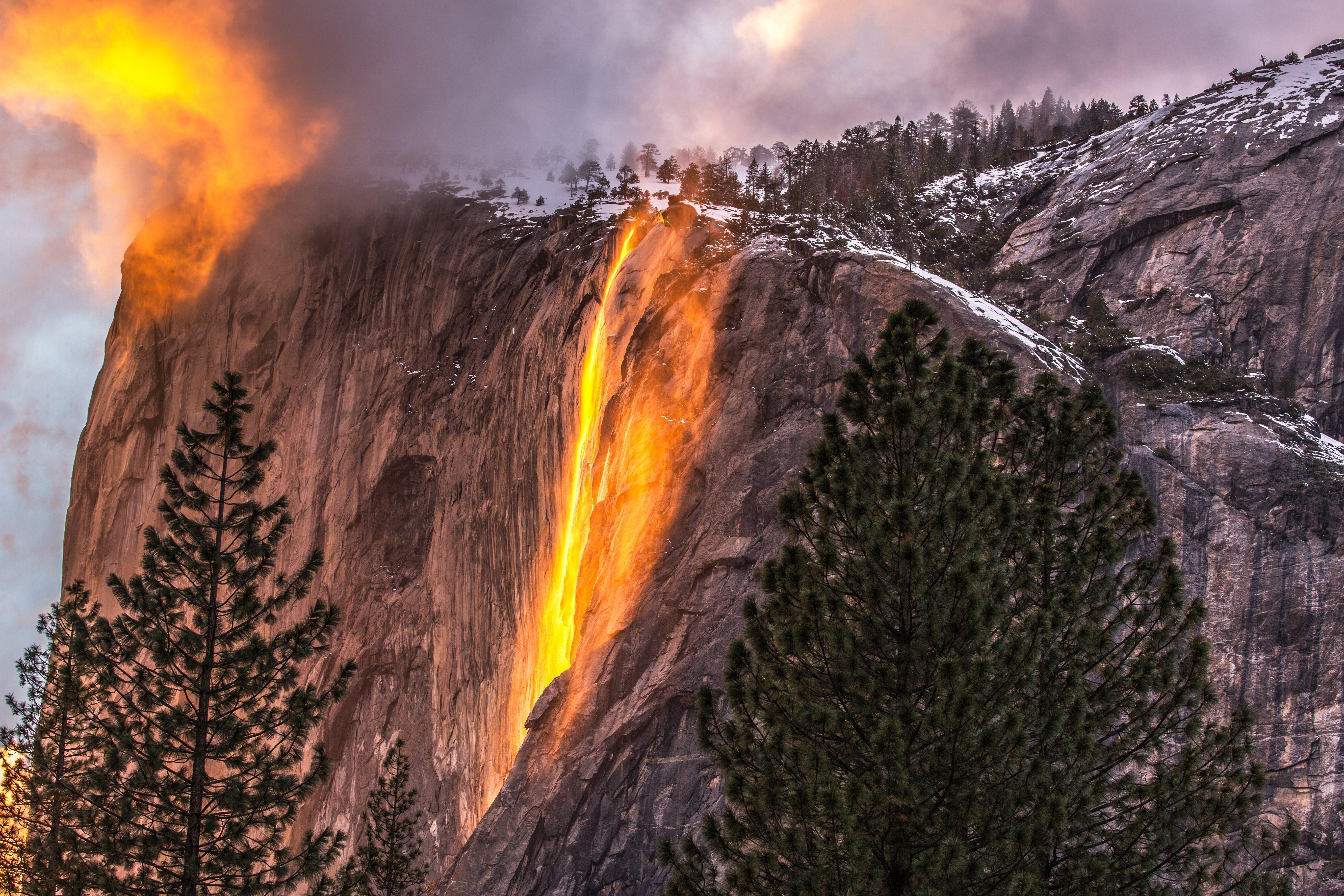 Horsetail Falls Yosemite NP
