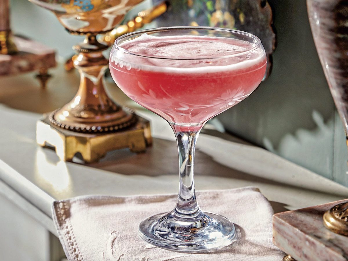 Clover Club from The Official Downton Abbey Cocktail Book: Appropriate Libations for All Occasions