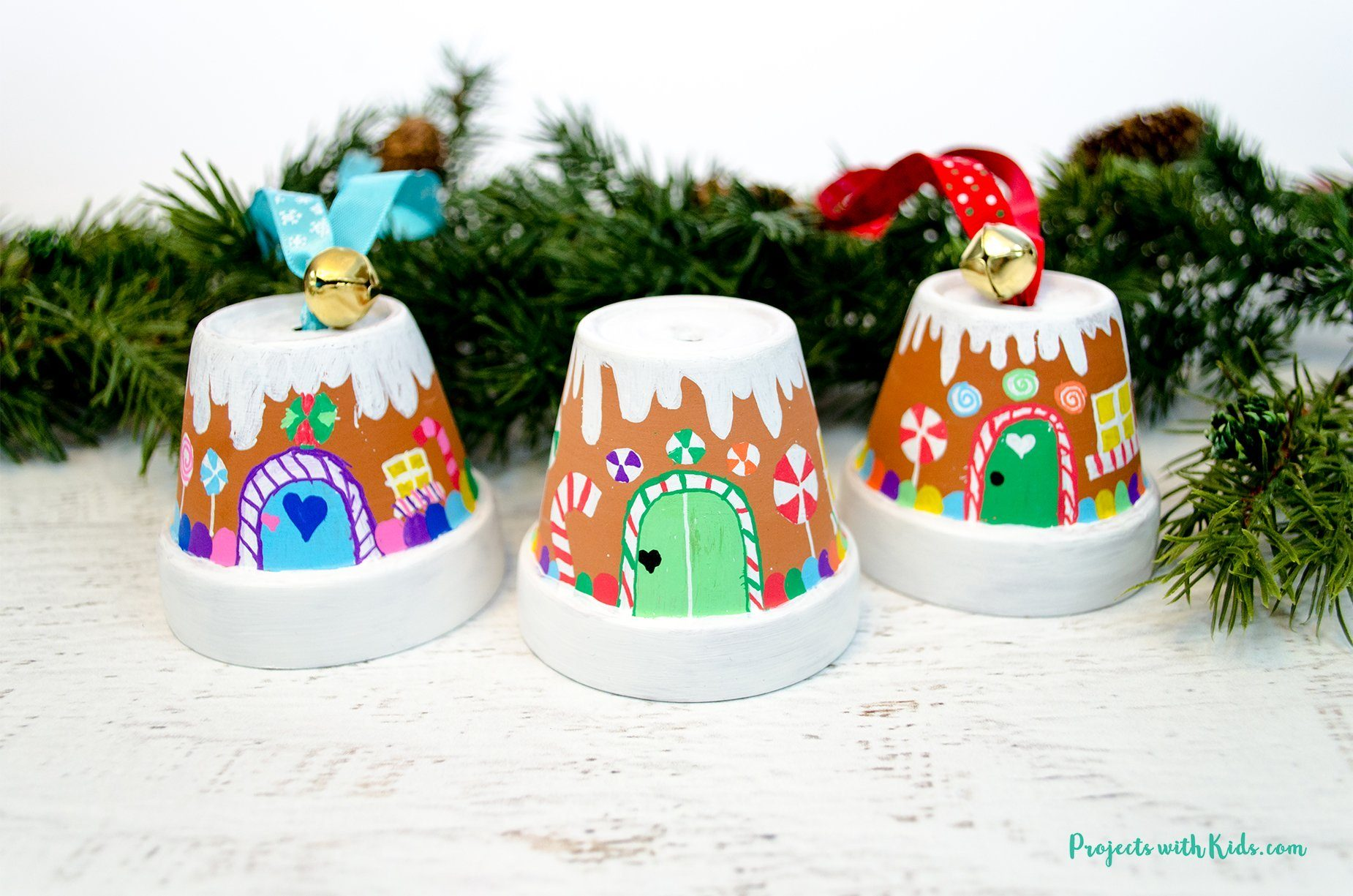 ginger bread house ornaments