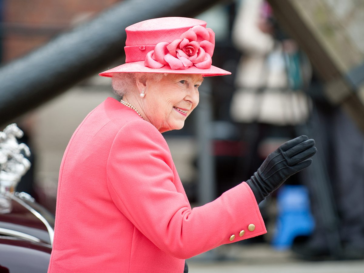 Good news - The Queen only wears faux fur now