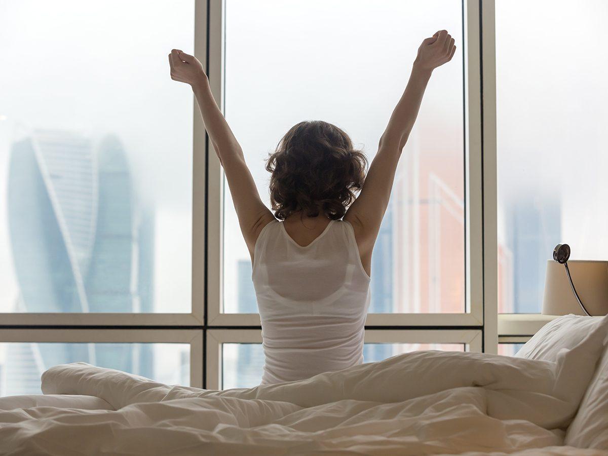 Health benefits of meditation - waking up fresh start