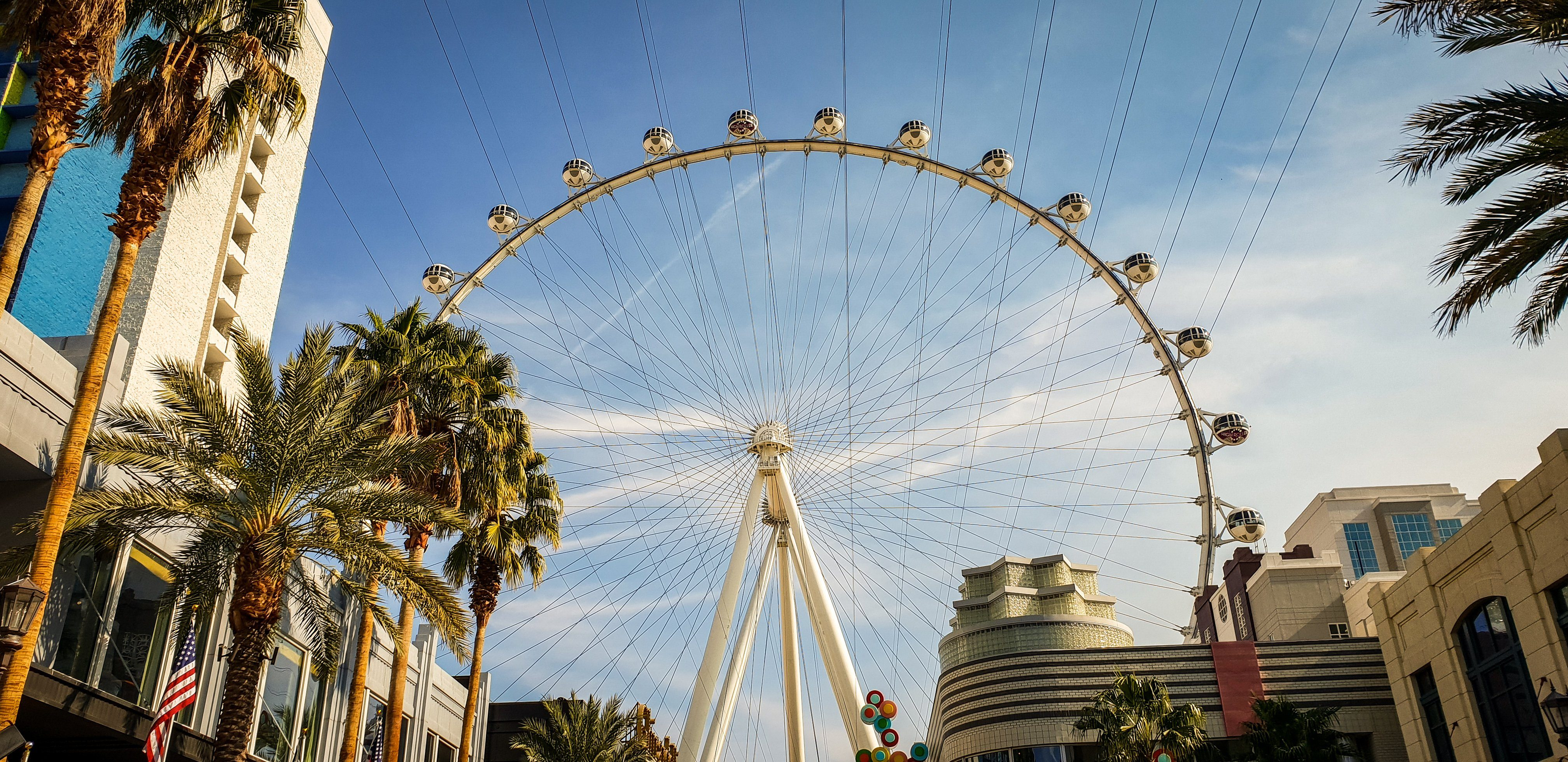 The High Roller, Las Vegas, Nevada from the Linq