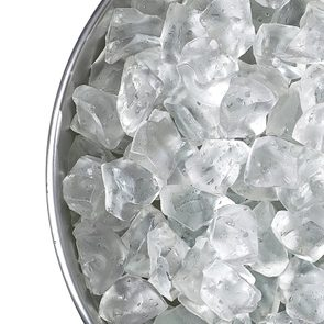 Back pain remedies - bucket of ice