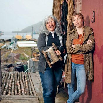 Kimberley Orren (left) and Jasmine Paul meet up twice a month for Girls Who Fish