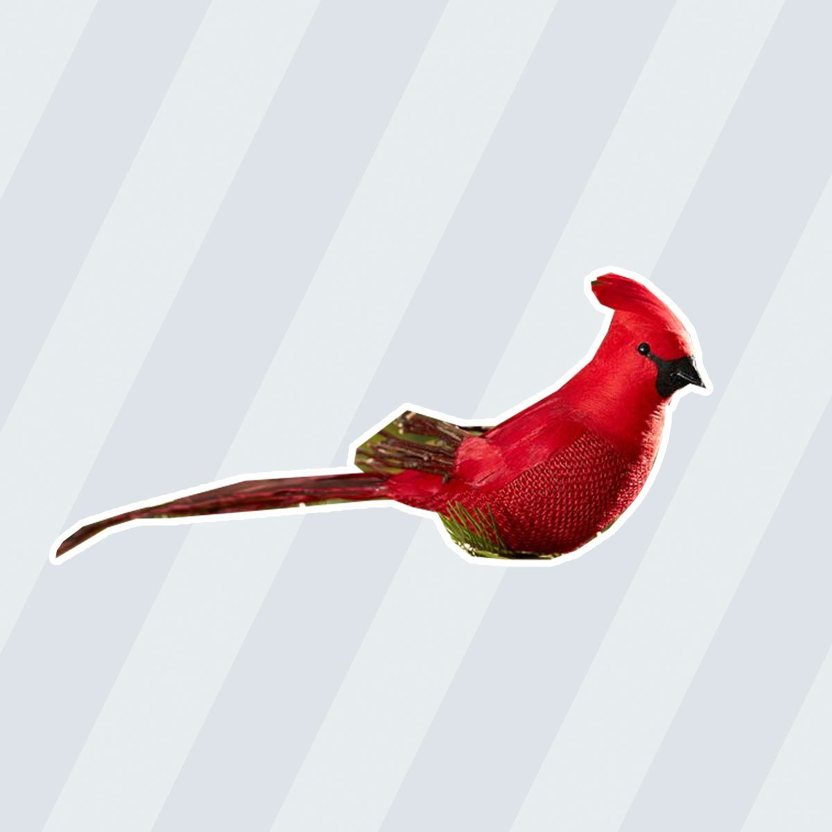 RED CARDINAL CLIP ORNAMENT