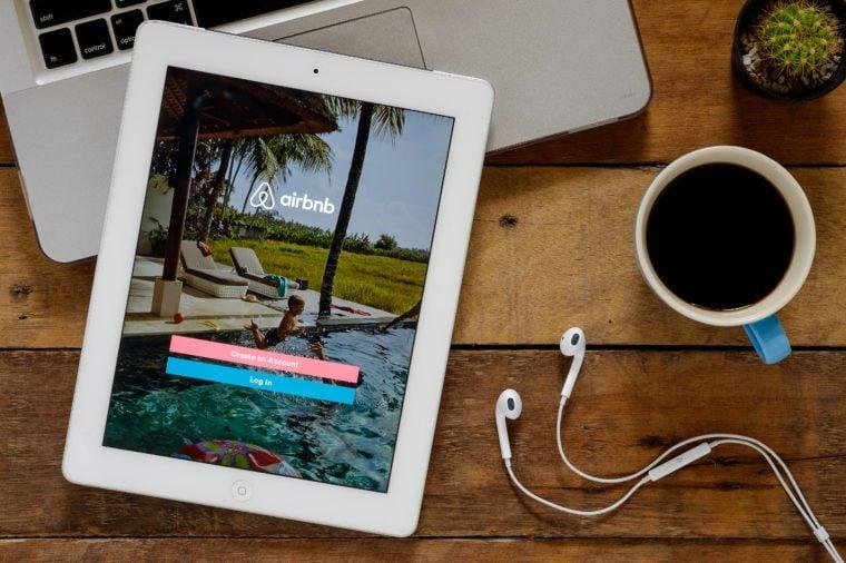 airbnb on ipad