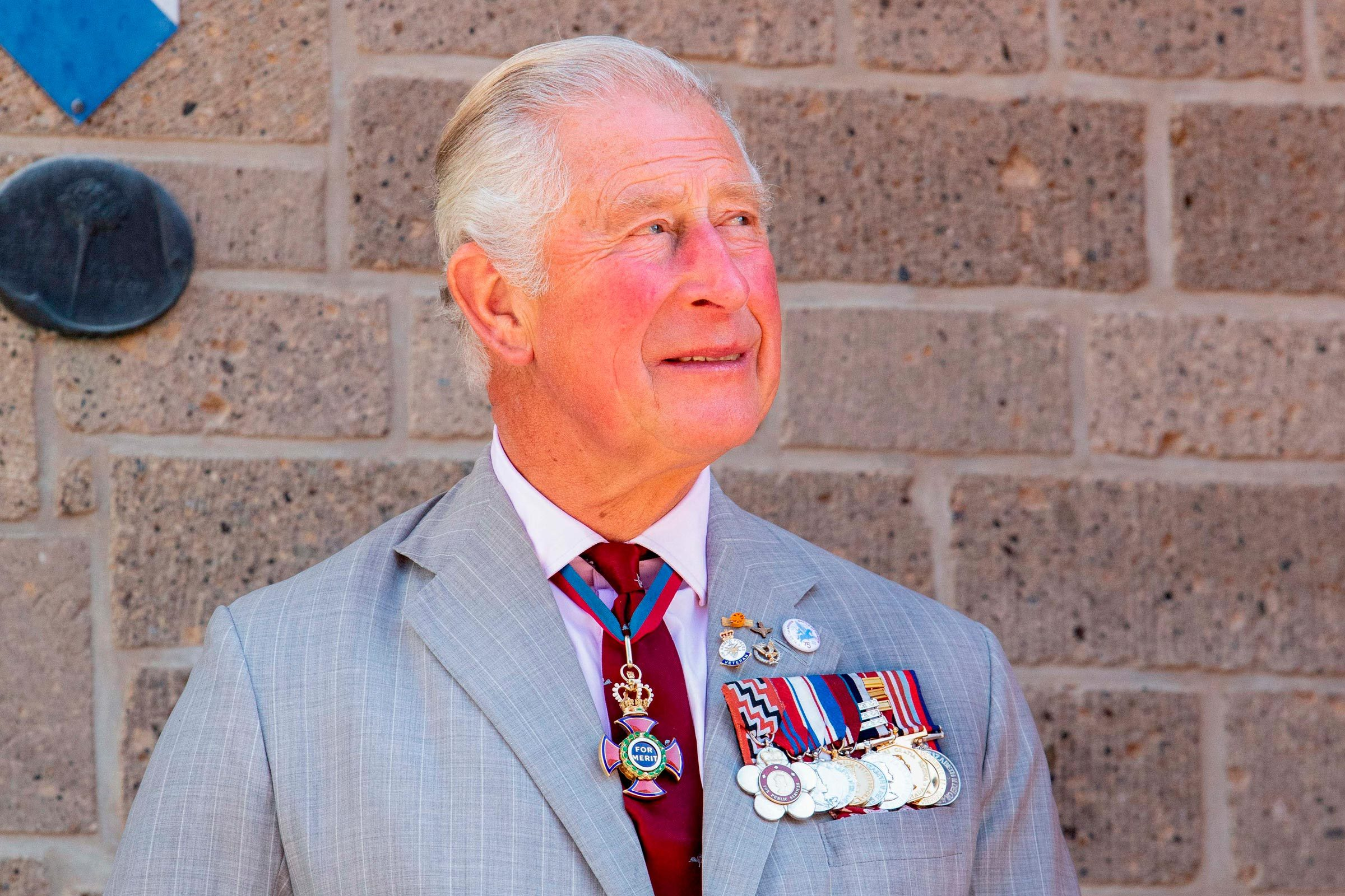 Prince Charles of Wales attends the opening of the restored tower of the Eusebius Church within the commemorations of the Operation Market Garden's 75th anniversary in Arnhem, The Netherlands 21 Sep 2019