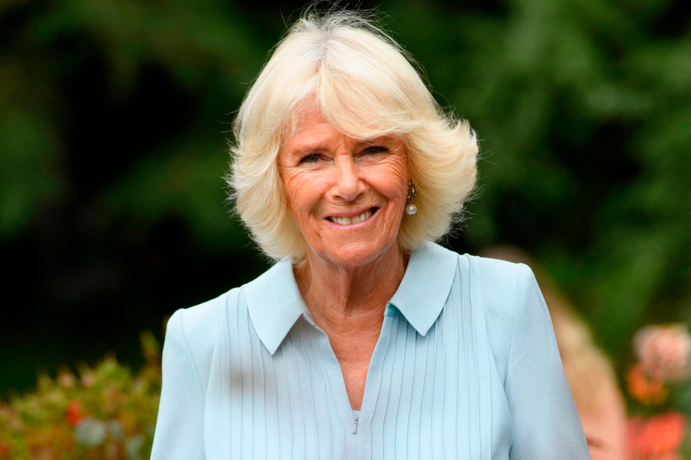 Camilla Duchess of Cornwall visits the Botanic Gardens in Christchurch 22 Nov 2019