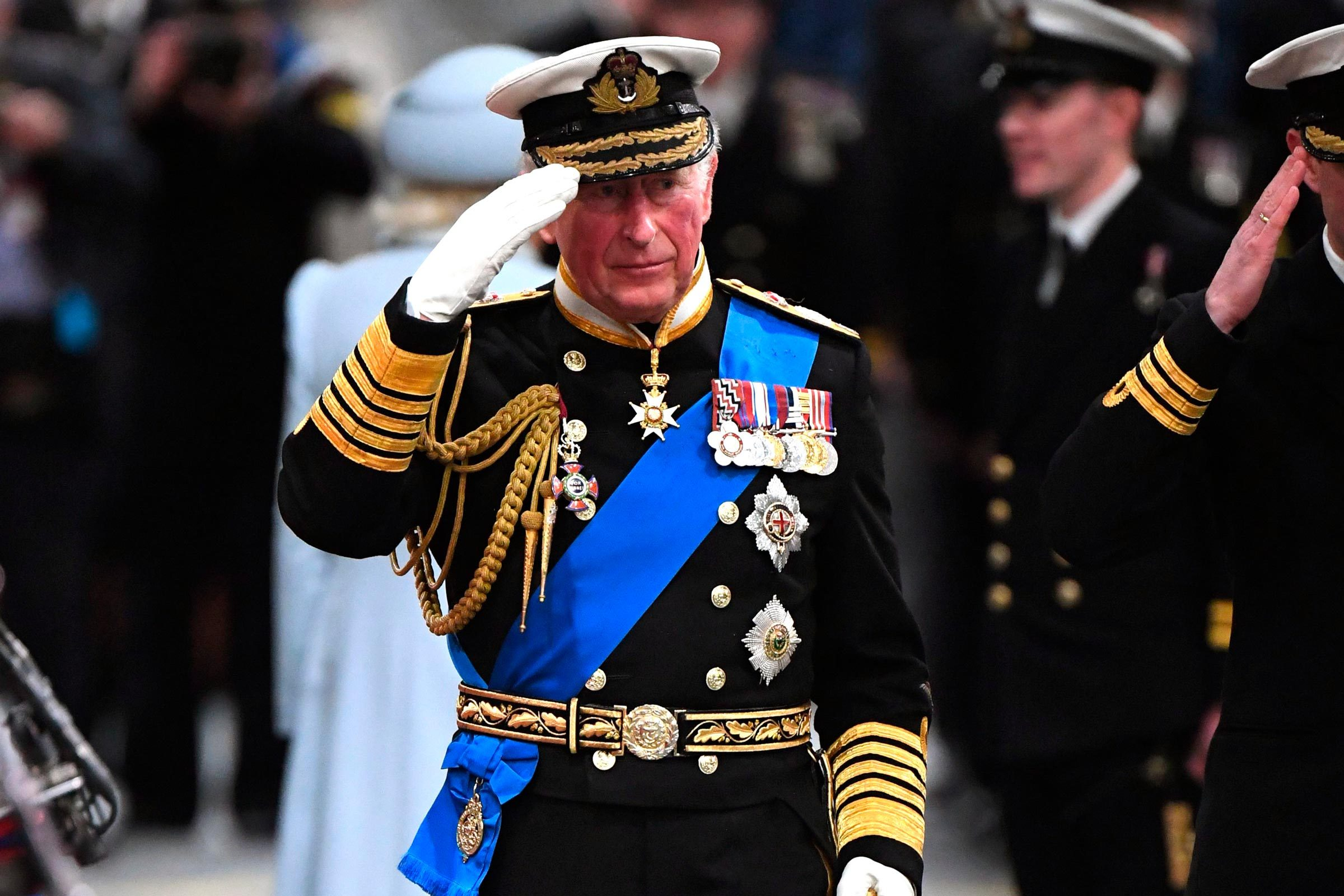 Commissioning of HMS The Prince of Wales, Portsmouth, UK - 10 Dec 2019 Prince Charles