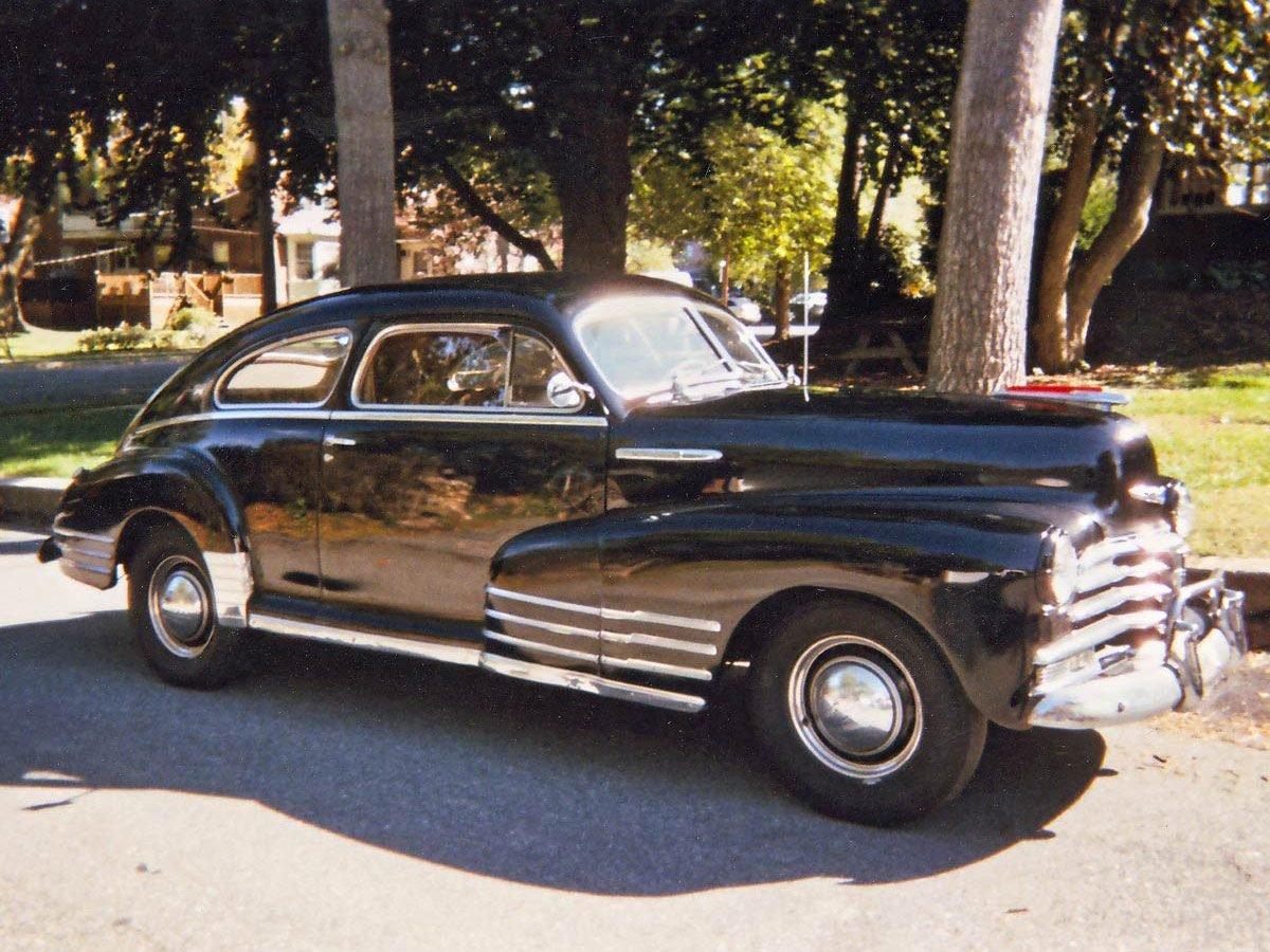 1948 Chevy Fleetline Aerosedan