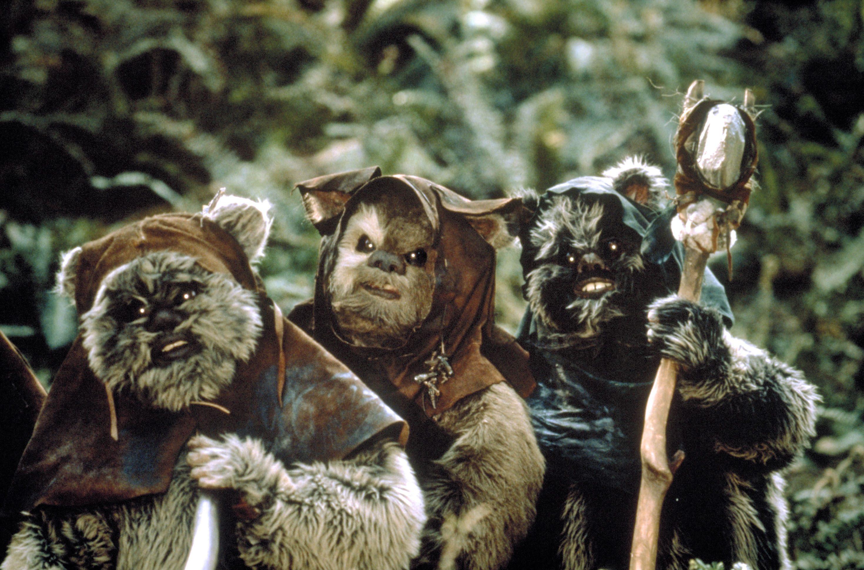 ewoks - Star Wars Episode Vi - Return Of The Jedi (1983)