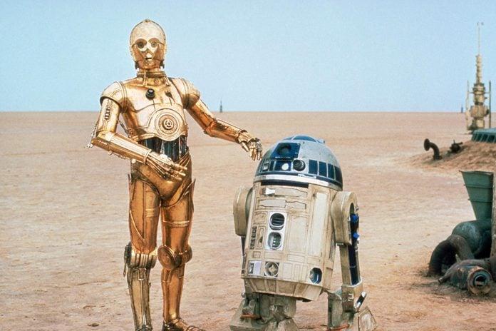 Anthony Daniels, Kenny Baker - Star Wars Episode IV - A New Hope - 1977