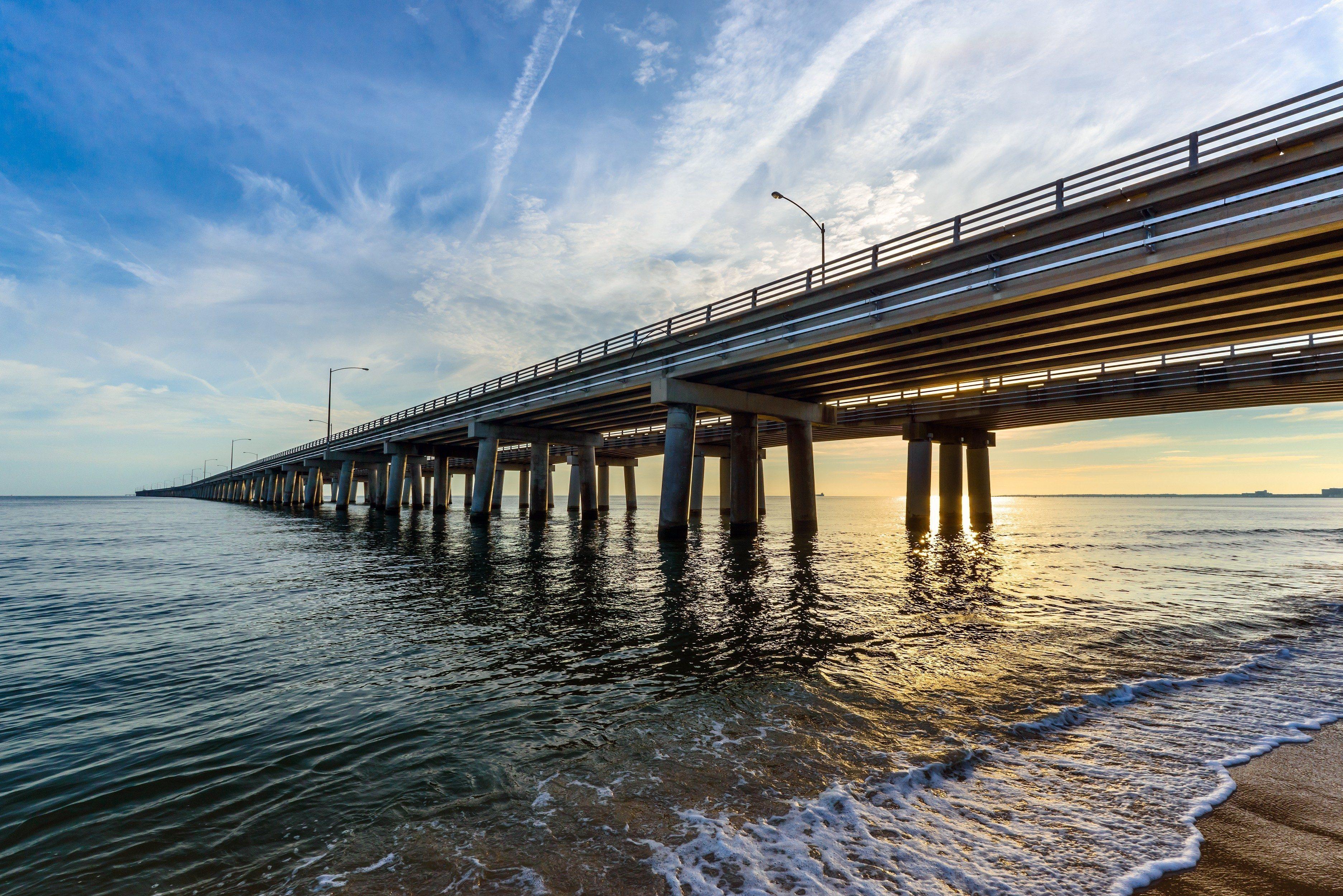 Chesapeake Bay Bridge - Virginia Beach side