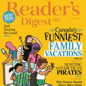 Inside the March 2020 Issue of Reader's Digest Canada