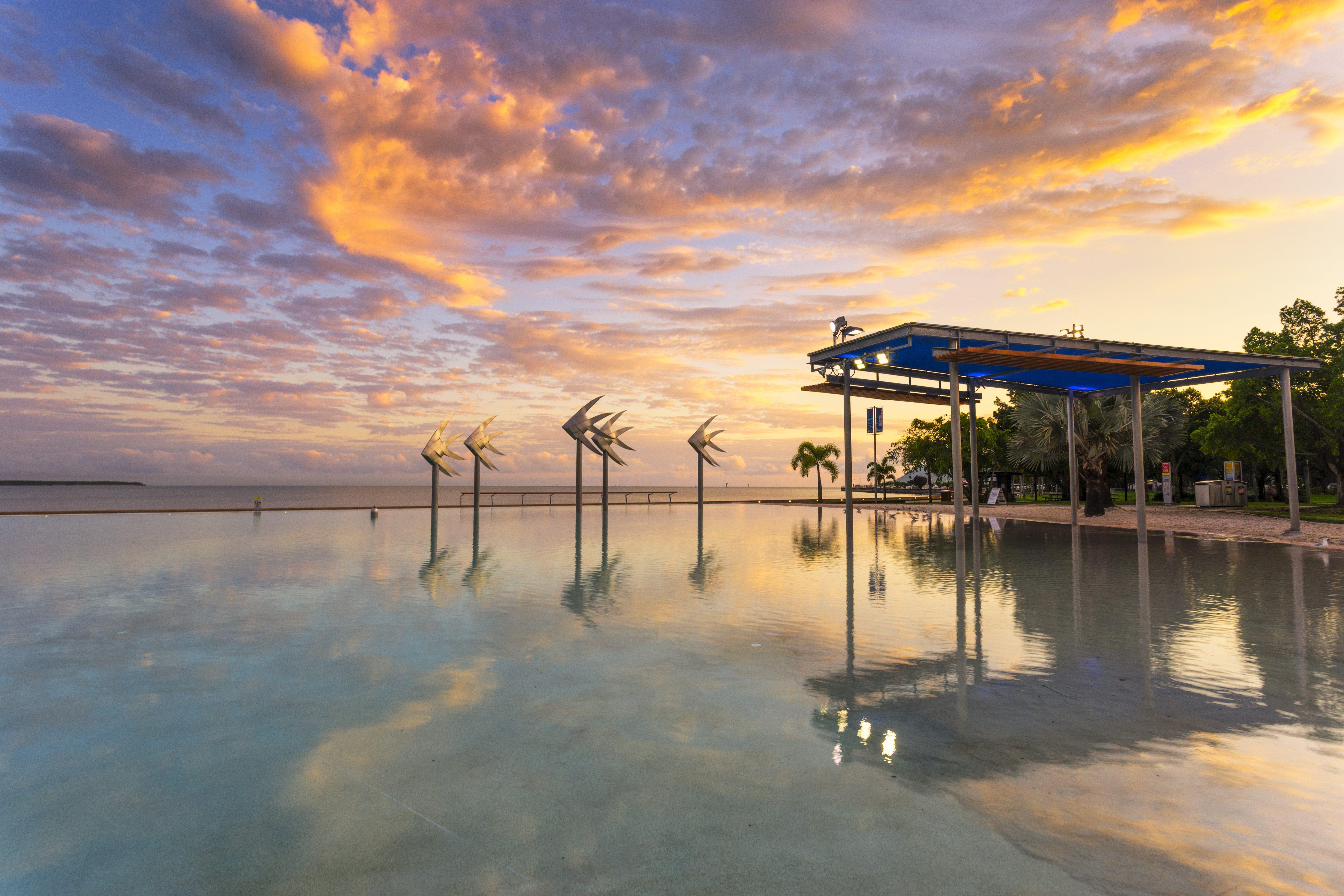 Cairns Lagoon at sunrise