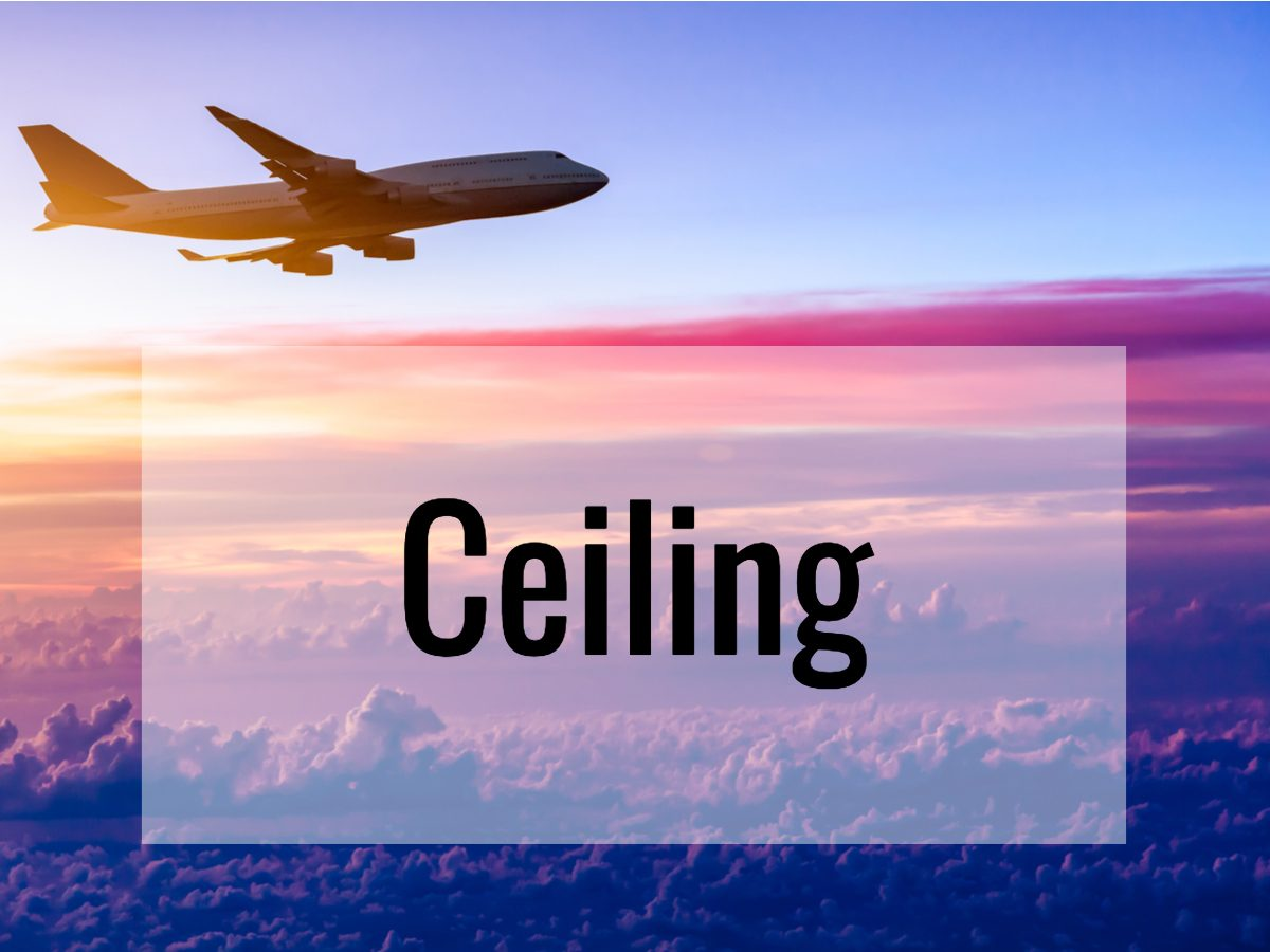 Aviation terms - Ceiling