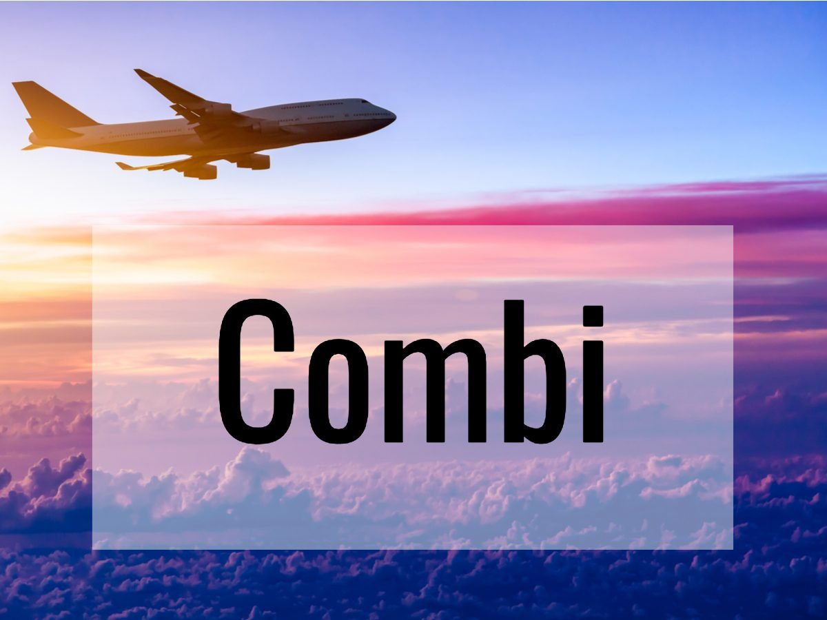 Aviation terms - combi