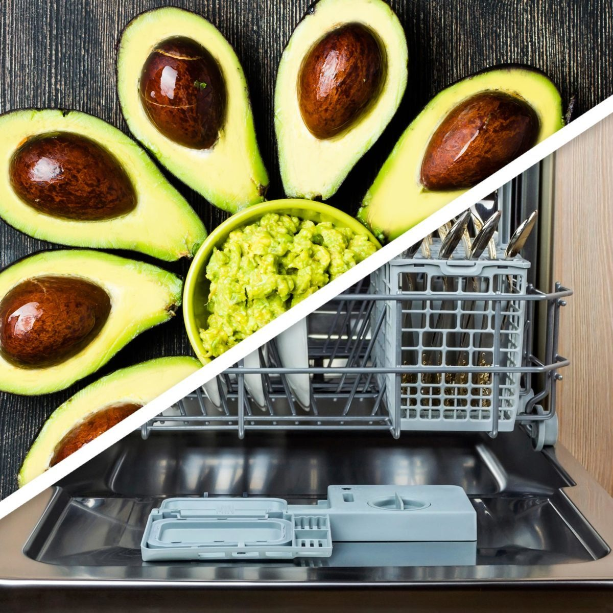 Avocados and dishwasher
