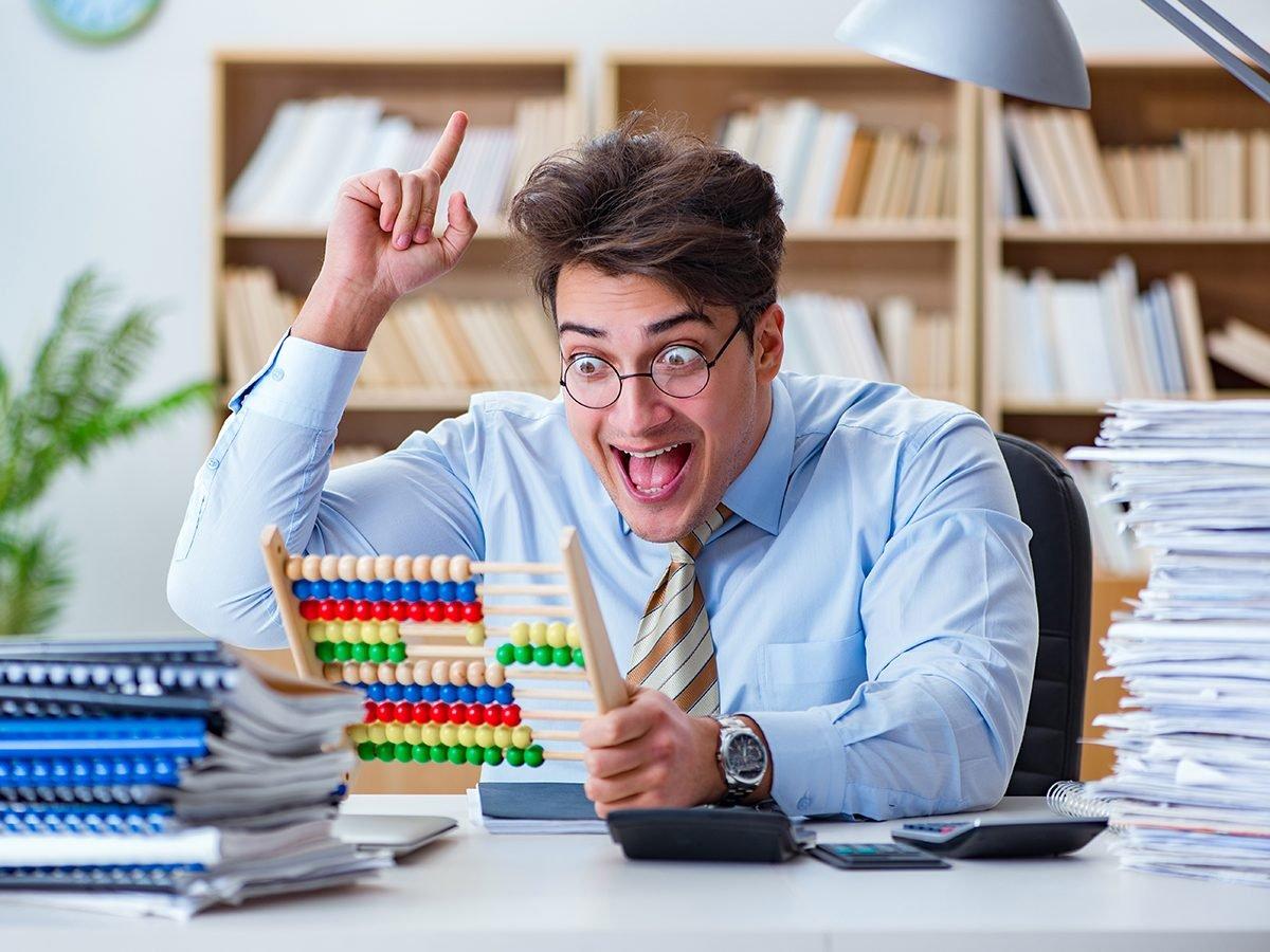 Best pi jokes - accountant statistician shouting eureka
