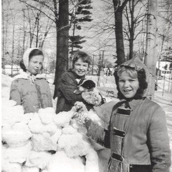 Childhood Winters of Yore