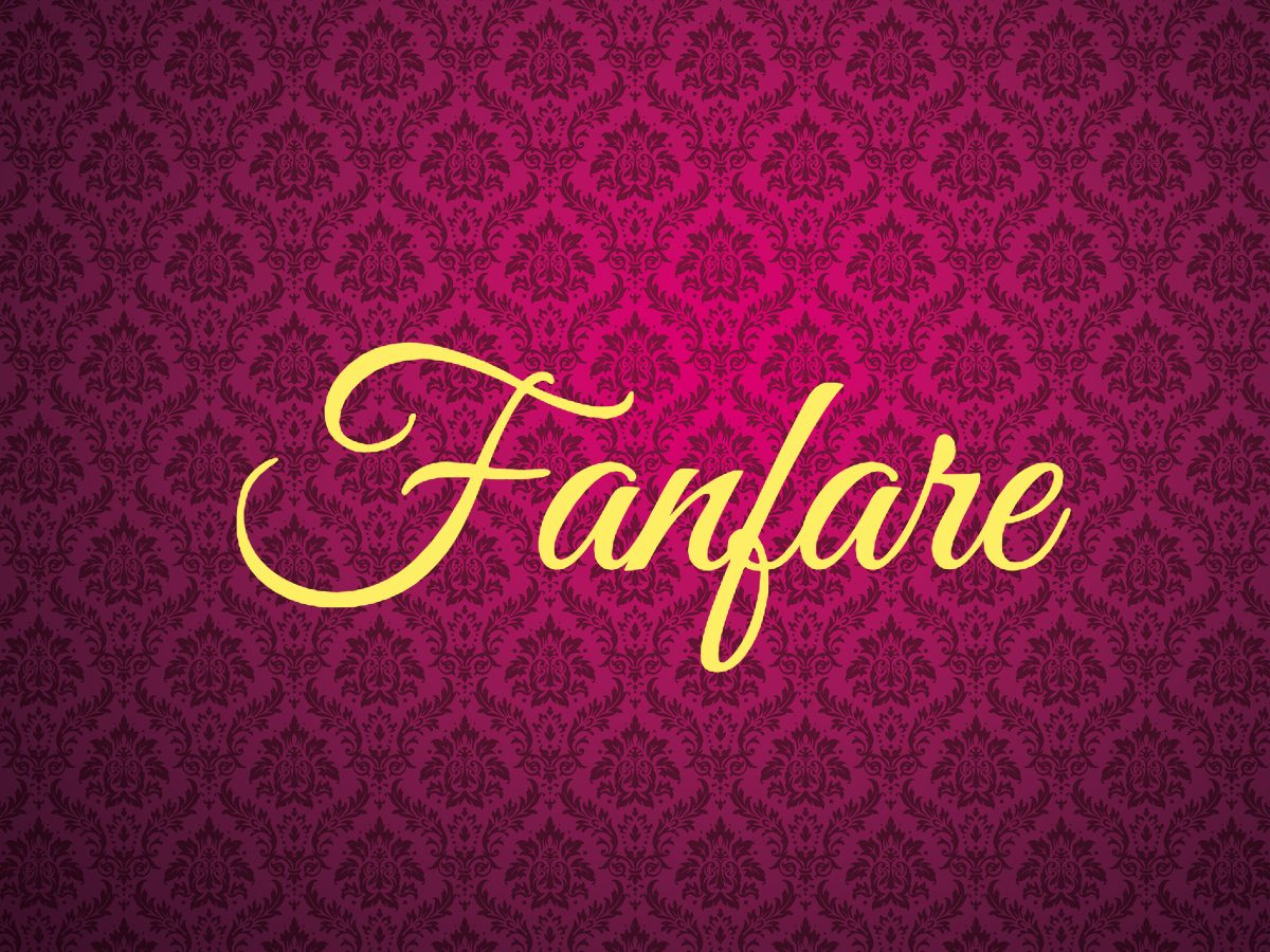 Fanfare - royal terms