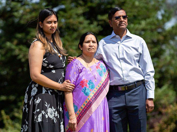 Dr. Nandu Kumar and his family