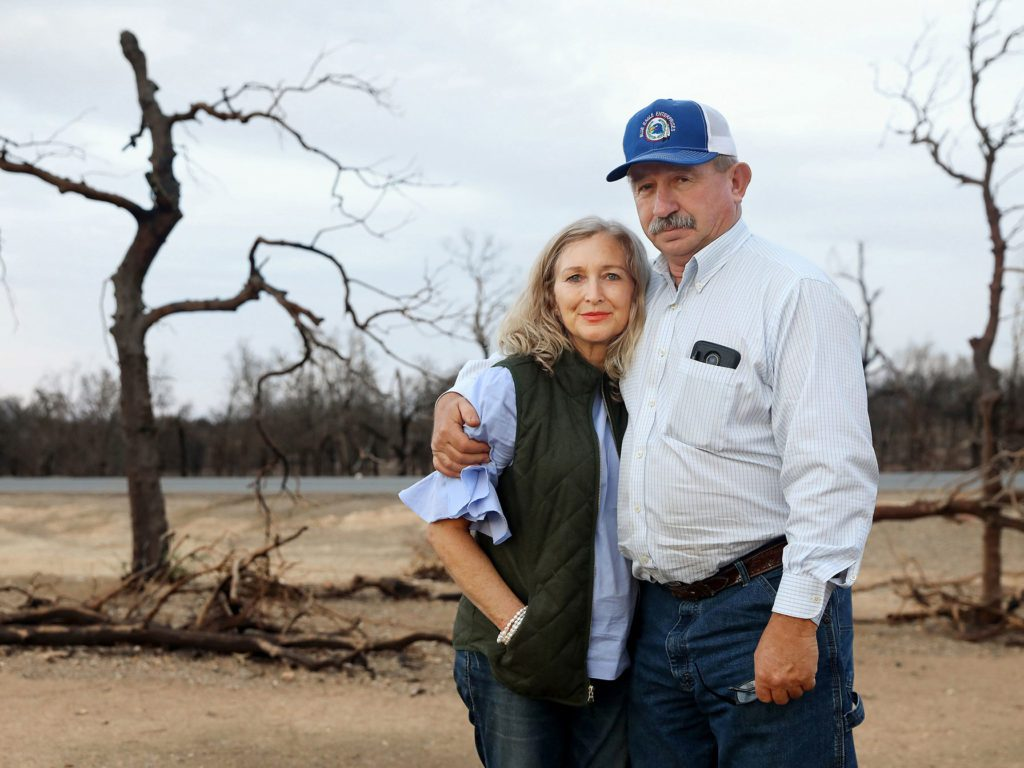 Don Andrews and wife Debra Andrews