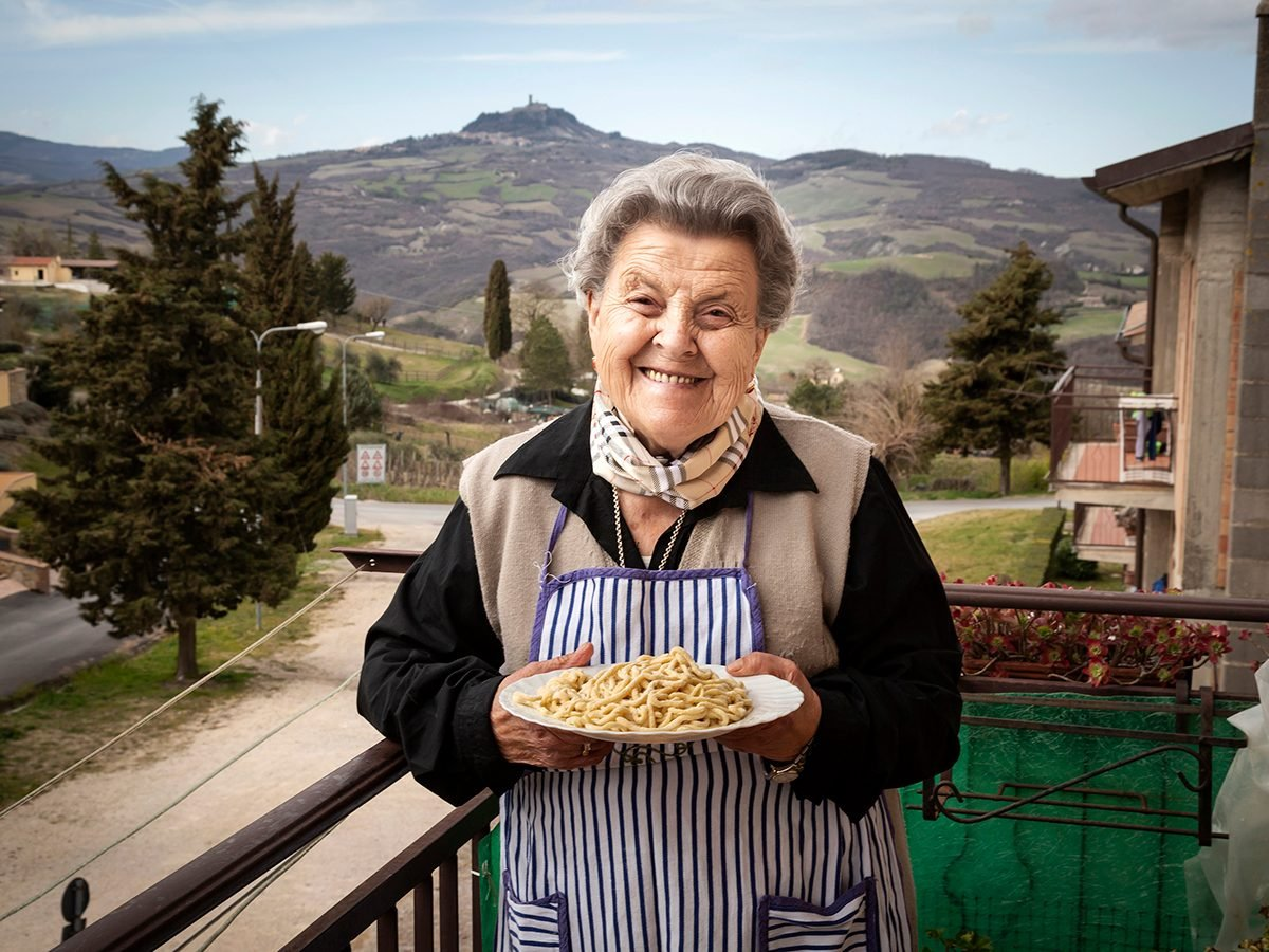 Good news - Italian pasta nonna