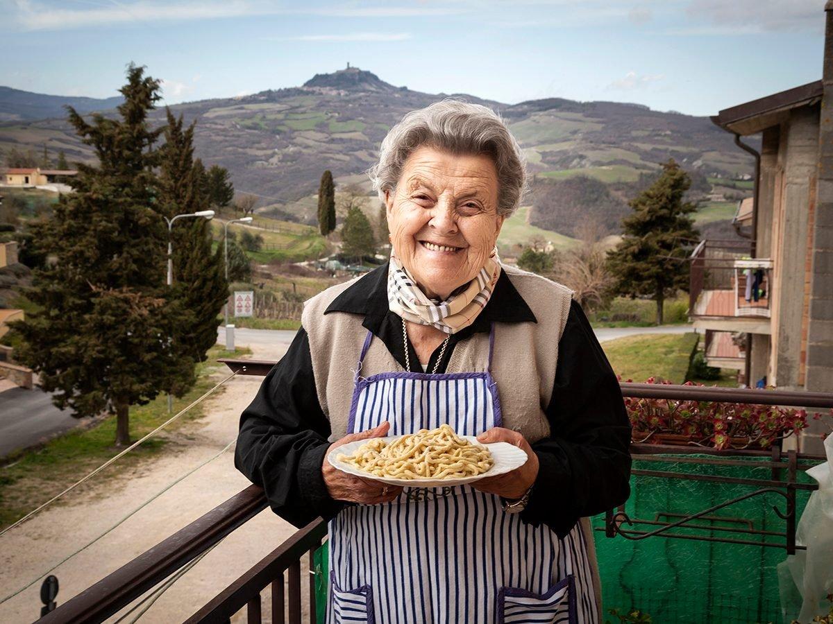 Good news - Italian pasta nonna