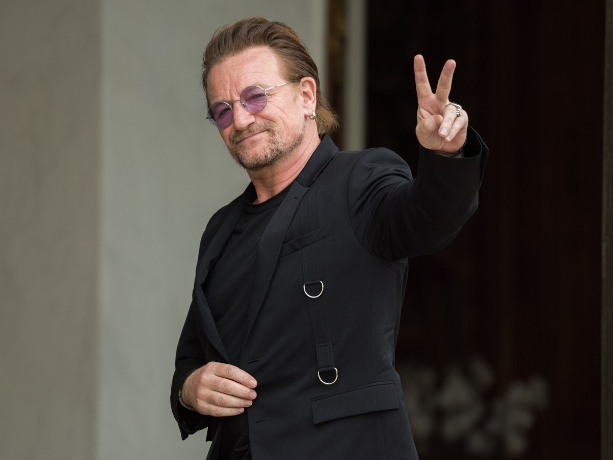 U2 frontman Bono in 2017