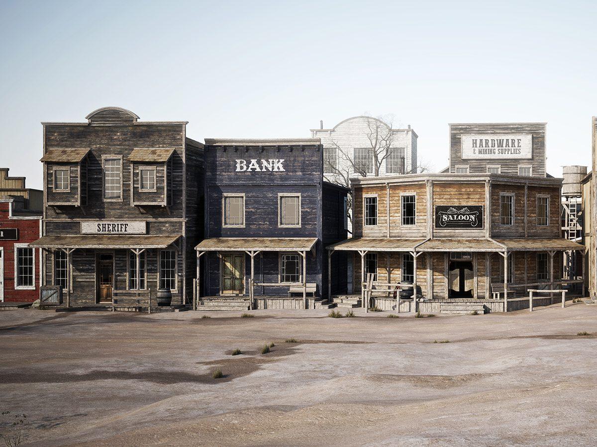 Hilarious tweets - wild west town