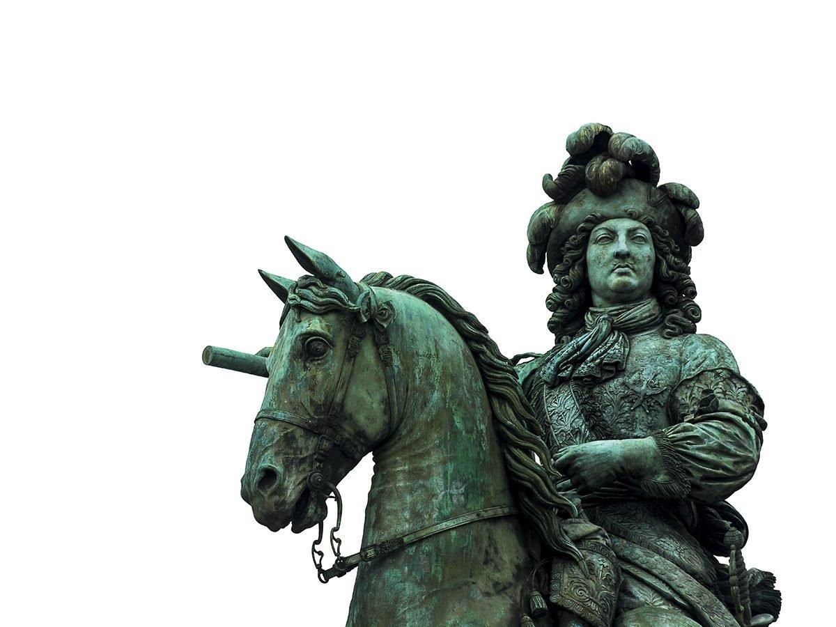 King Louis XIV statue