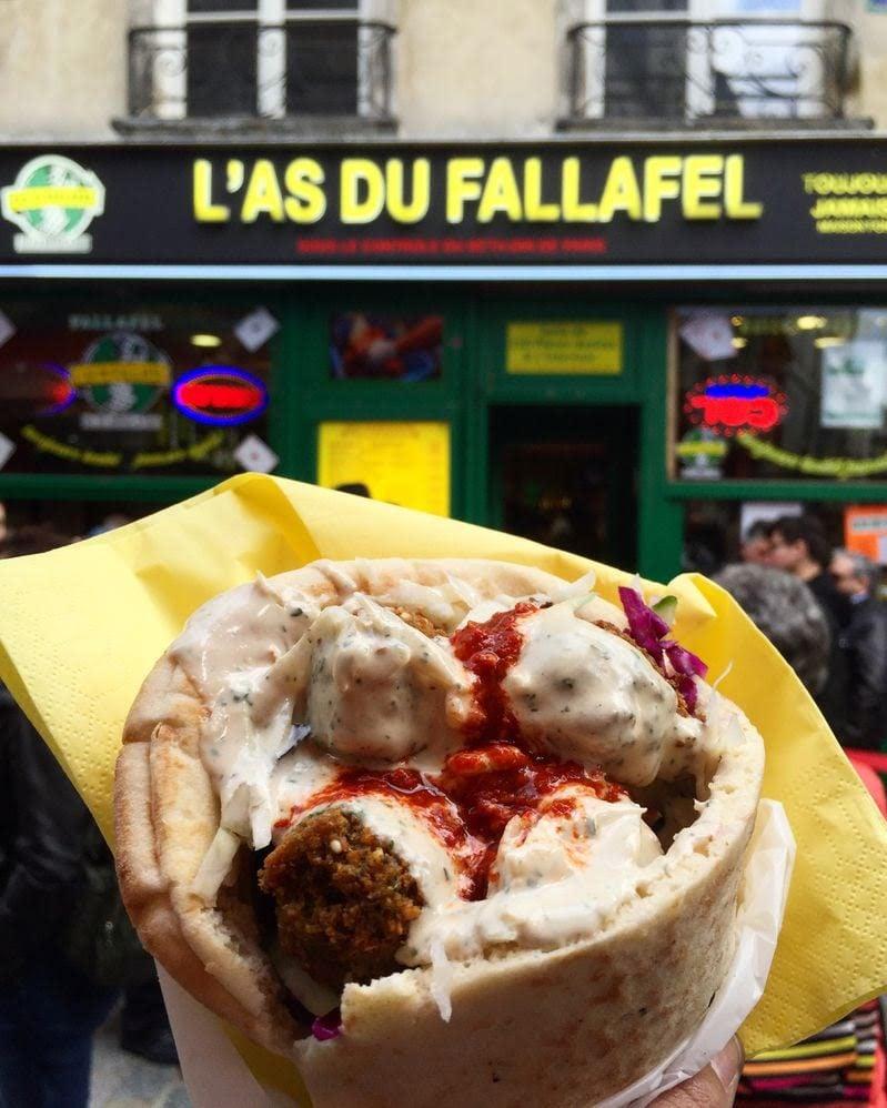 Le Marais Paris - L'as du Fallafel