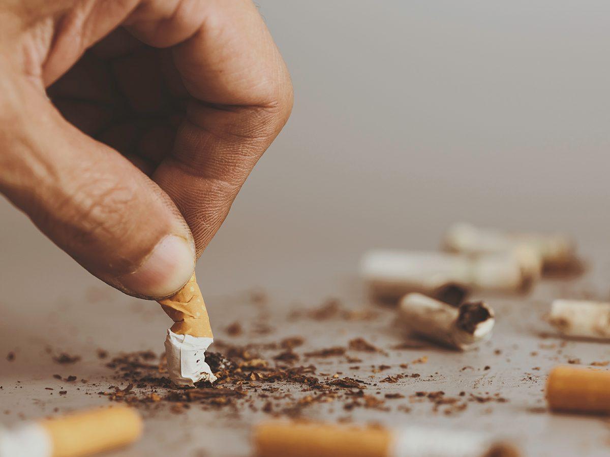 New health studies - stop smoking