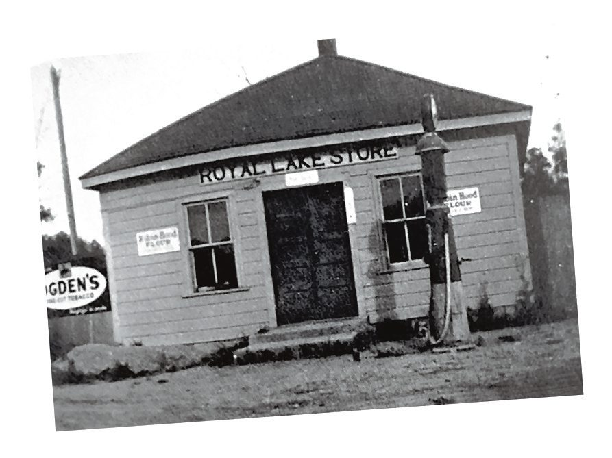 Royal Lake Country Store - then