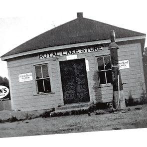 Royal Lake Country Store - then