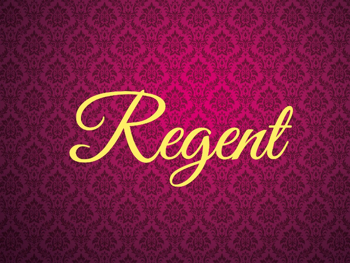 Royal terms - regent
