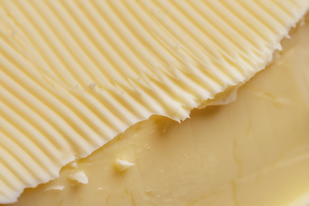 Butter close up view