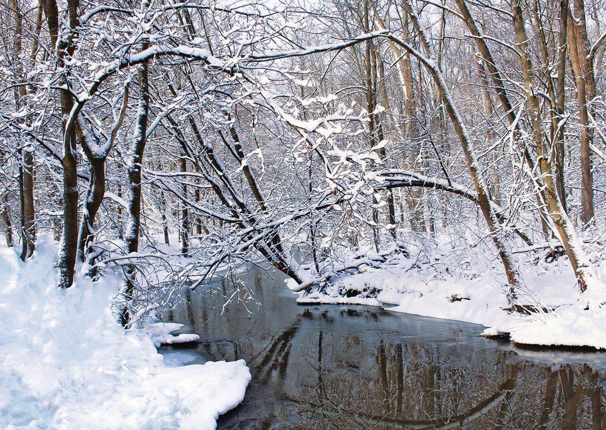 Stratford, Ontario - winter scene