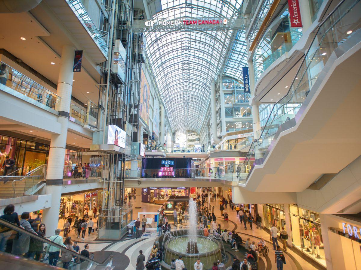 Eaton Centre in Toronto, Canada