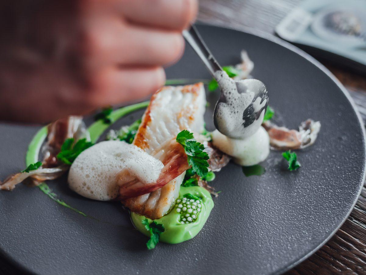 Michelin-star restaurant