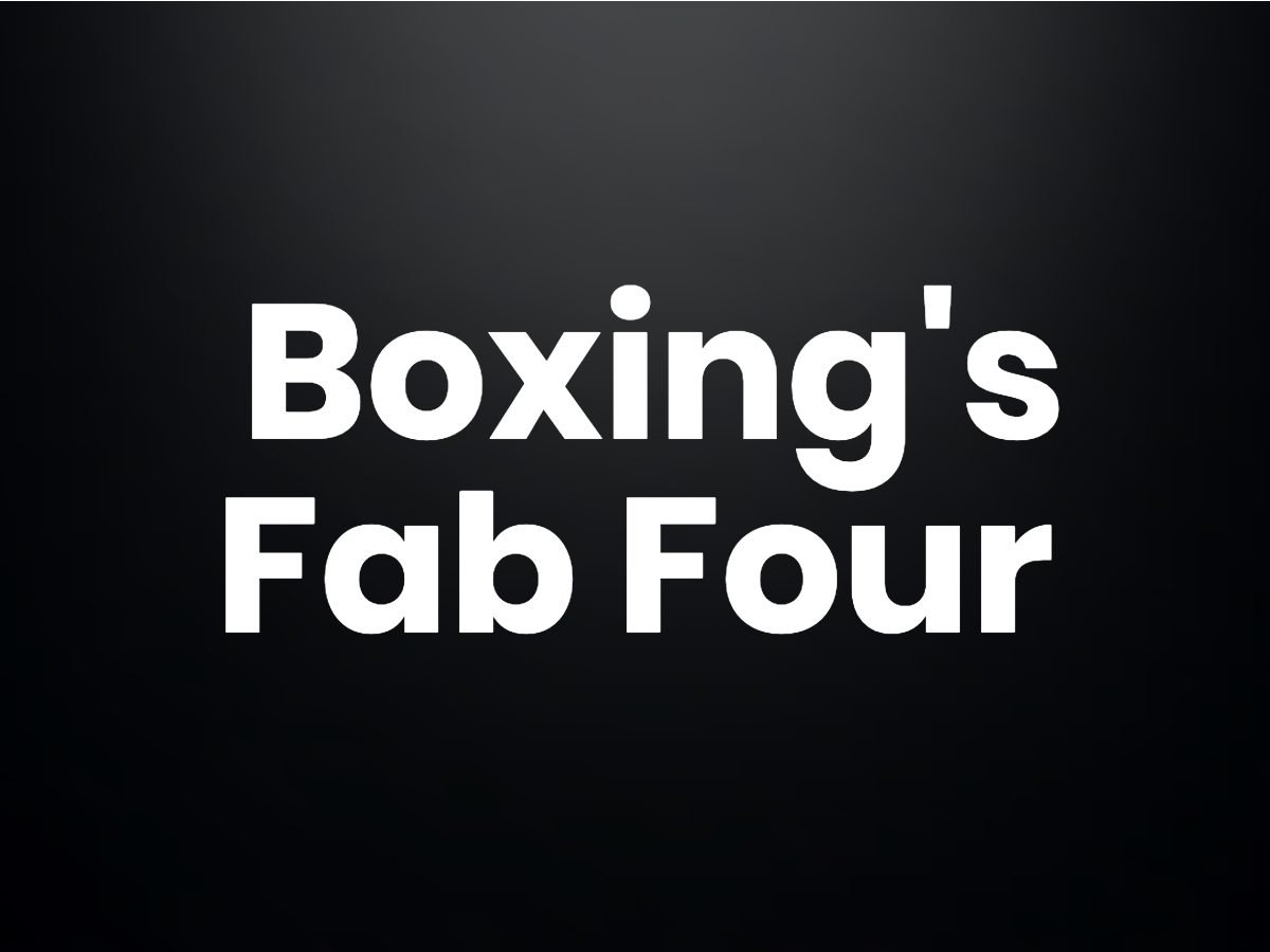 Trivia questions - Boxing's Fabulous Four
