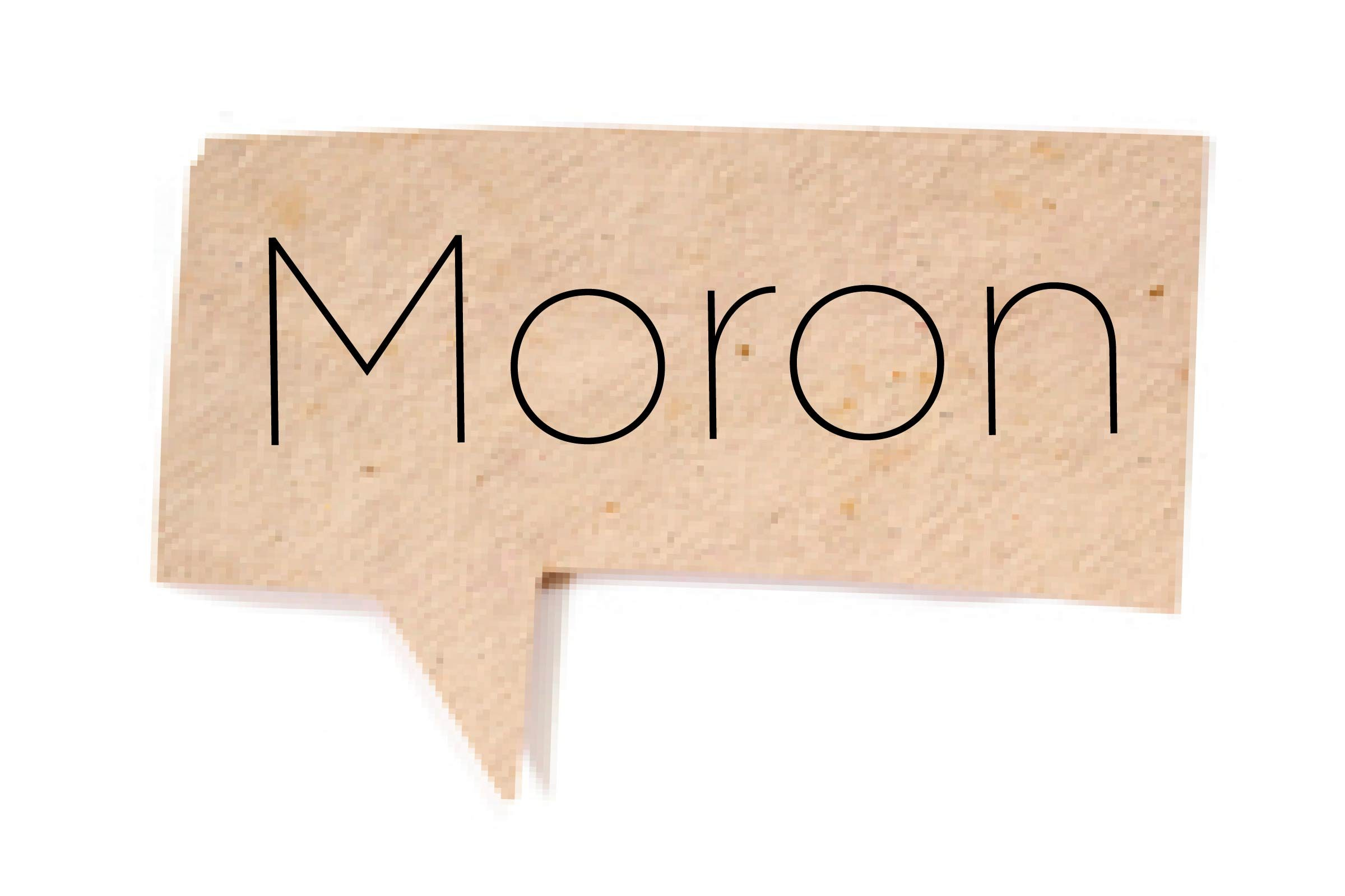 Offensive words - Moron