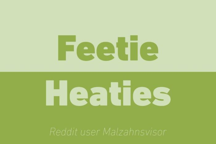 feetie heaties walkie talkie reddit
