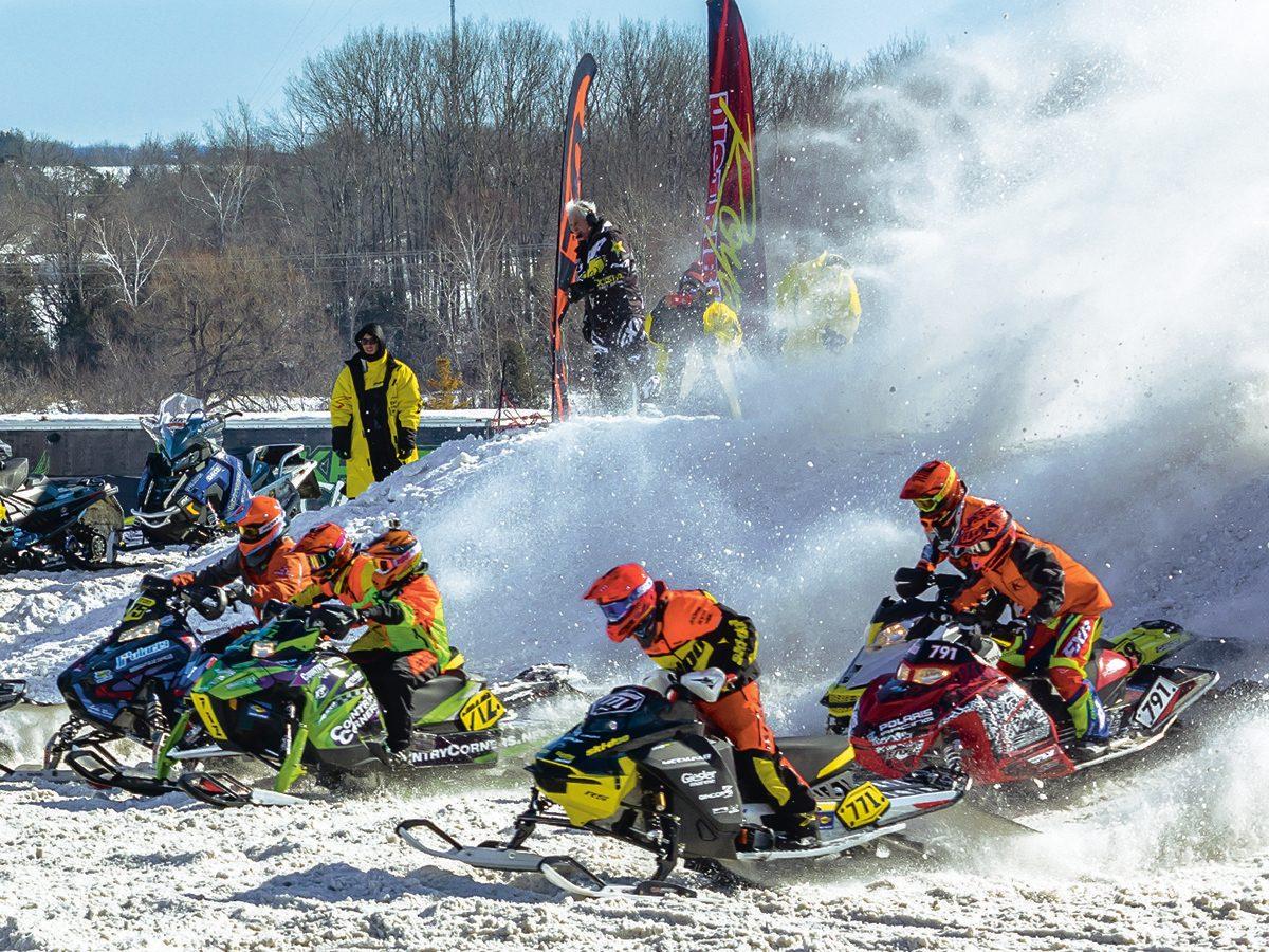 FXR Kawartha Cup Snowcross racers