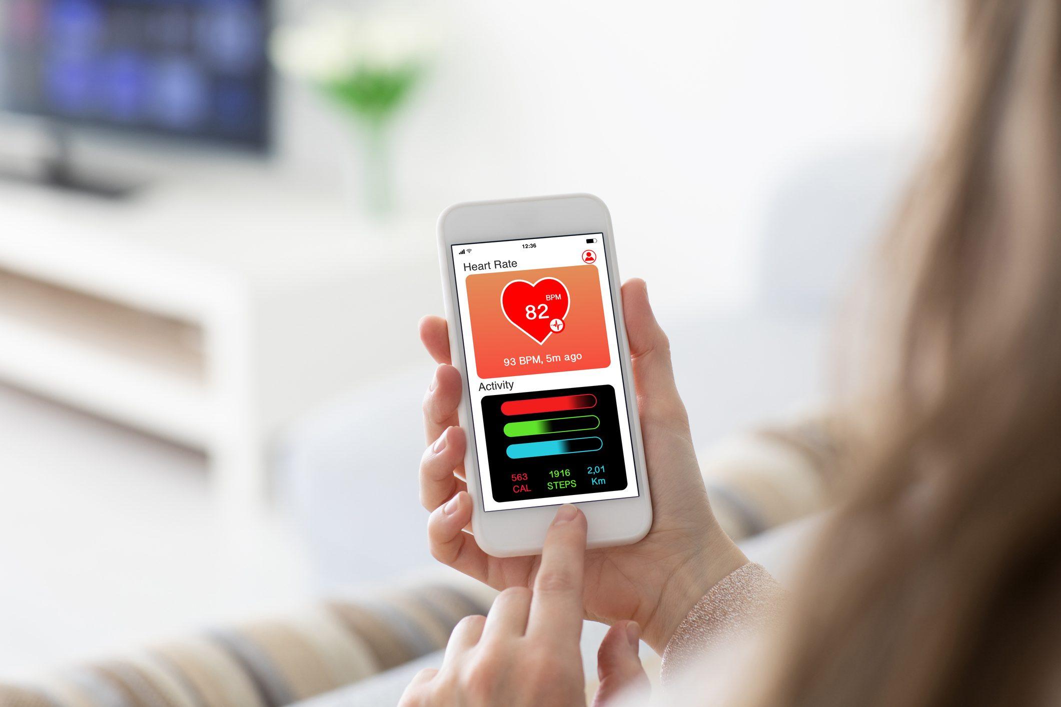health sensor phone app